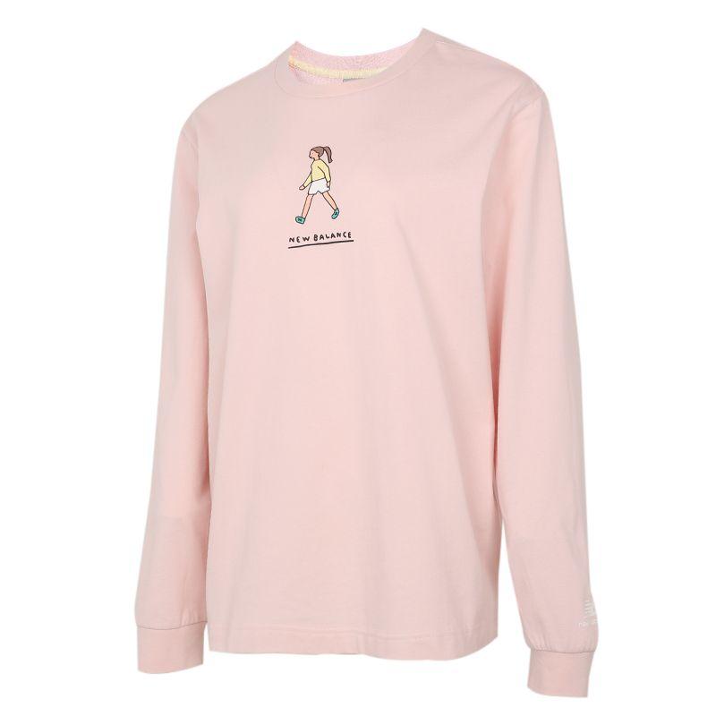 NEW BALANCE 女装 张子枫妹妹同款联名新款运动长袖T恤 NDA47012-PK