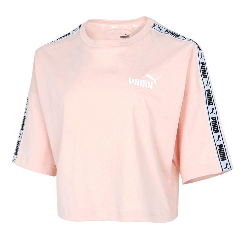彪马PUMA 女装 2021春季新款宽松运动短袖T恤 533193-27