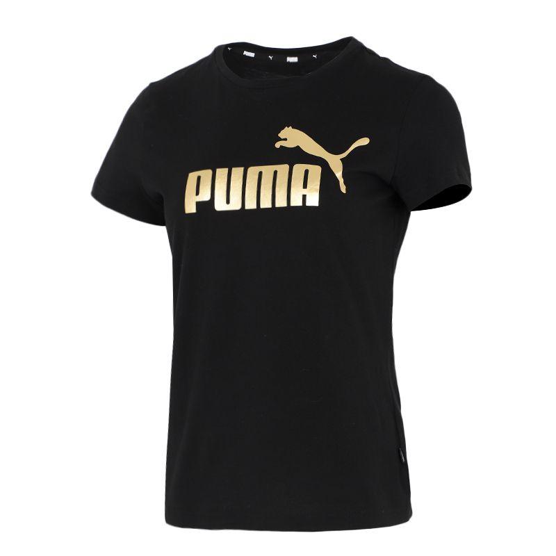 彪马PUMA 女装 2021春季新款休闲透气运动跑步训练短袖T恤 845594-01