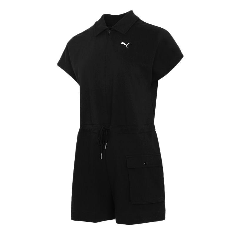 彪马PUMA 女装 2021夏季新品运动服户外出行舒适透气时尚潮服休闲连体服 532849-01