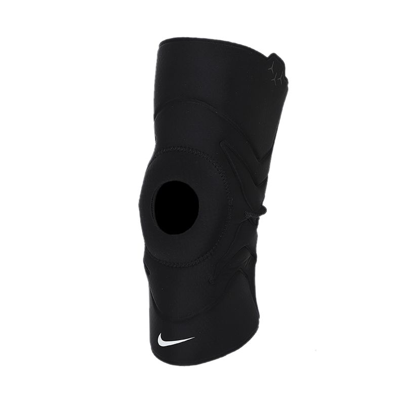NIKE 男女 篮球运动跑步健身护具半月板关节护膝盖开放式护膝 DA7070-010