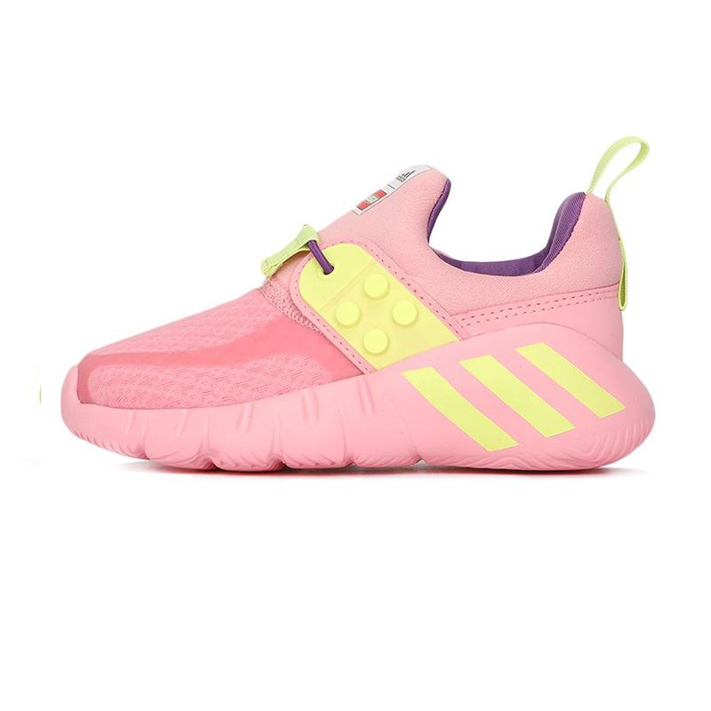 阿迪达斯ADIDAS 儿童 乐高联名舒适一脚蹬休闲运动跑步鞋海马鞋 FZ0397