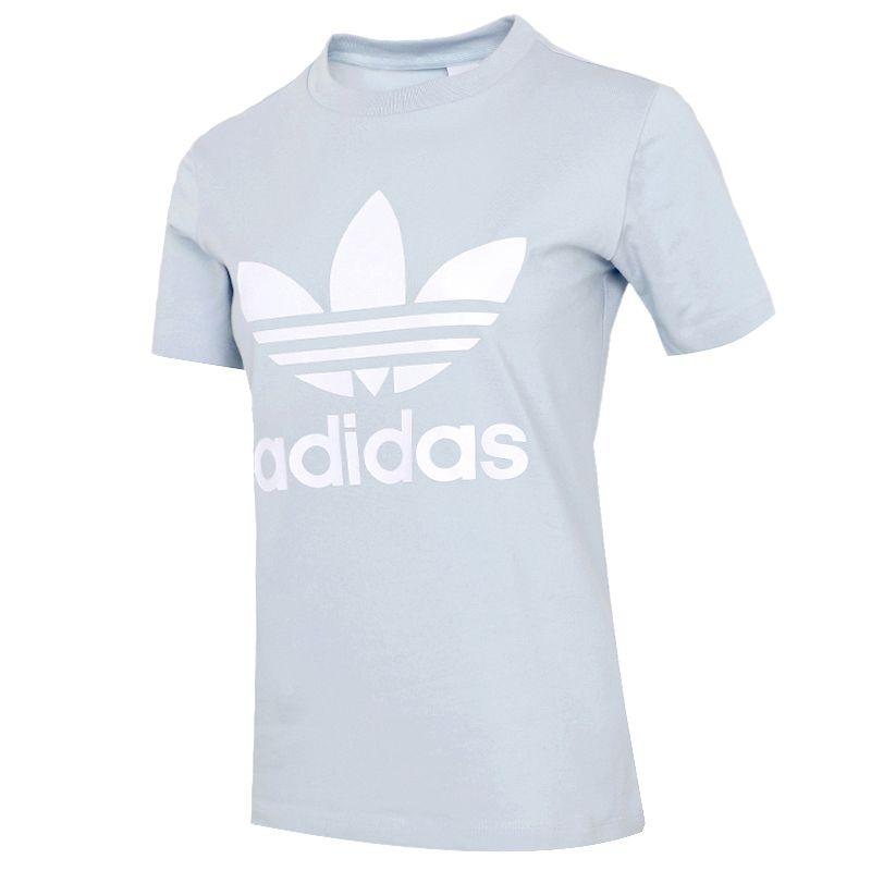 阿迪达斯三叶草ADIDAS  女装 2021夏季新款运动休闲篮球短袖T恤 GN2975