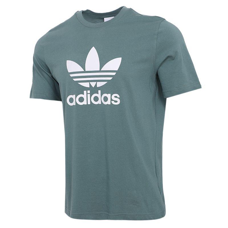 阿迪达斯三叶草ADIDAS  男装 2021夏季新款运动休闲篮球短袖T恤 GN3483 + GN3463 + GN2975