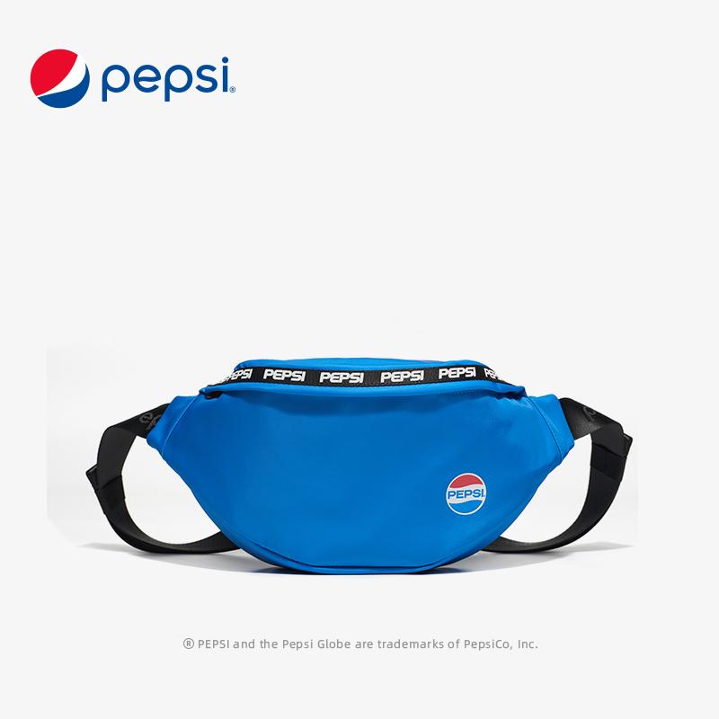 Pepsi百事腰包男2021春季新款休闲轻便单肩包女运动旅游手机包 BB12A203025BBWL