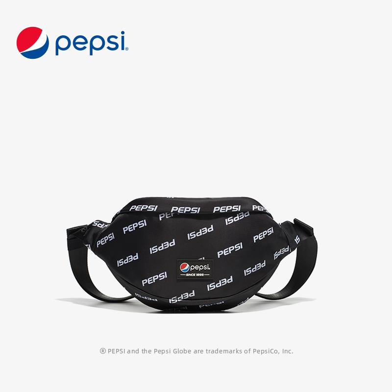 Pepsi百事腰包男2021春季新款轻便斜挎包运动旅游便携手机单肩包 BB12A203028K1WL