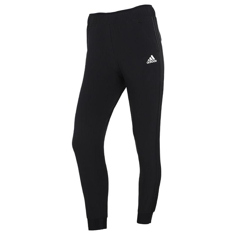 阿迪达斯ADIDAS 女子 2021夏季新款运动裤跑步训练健身舒适快干透气休闲梭织长裤 H50993