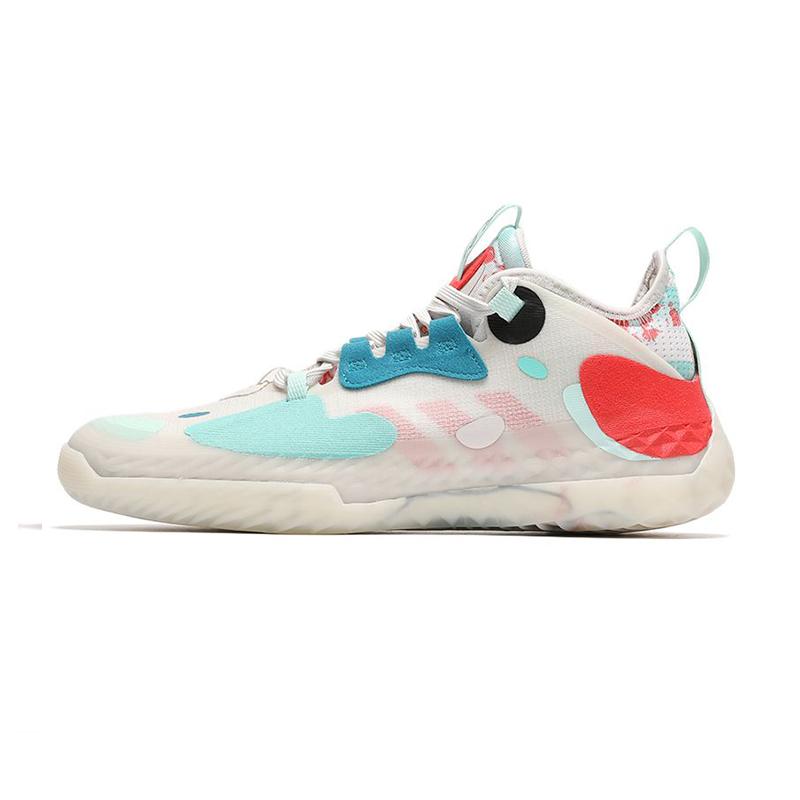 阿迪达斯ADIDAS 男子 2021夏季哈登运动鞋场上实战篮球鞋 签名款 FZ4405