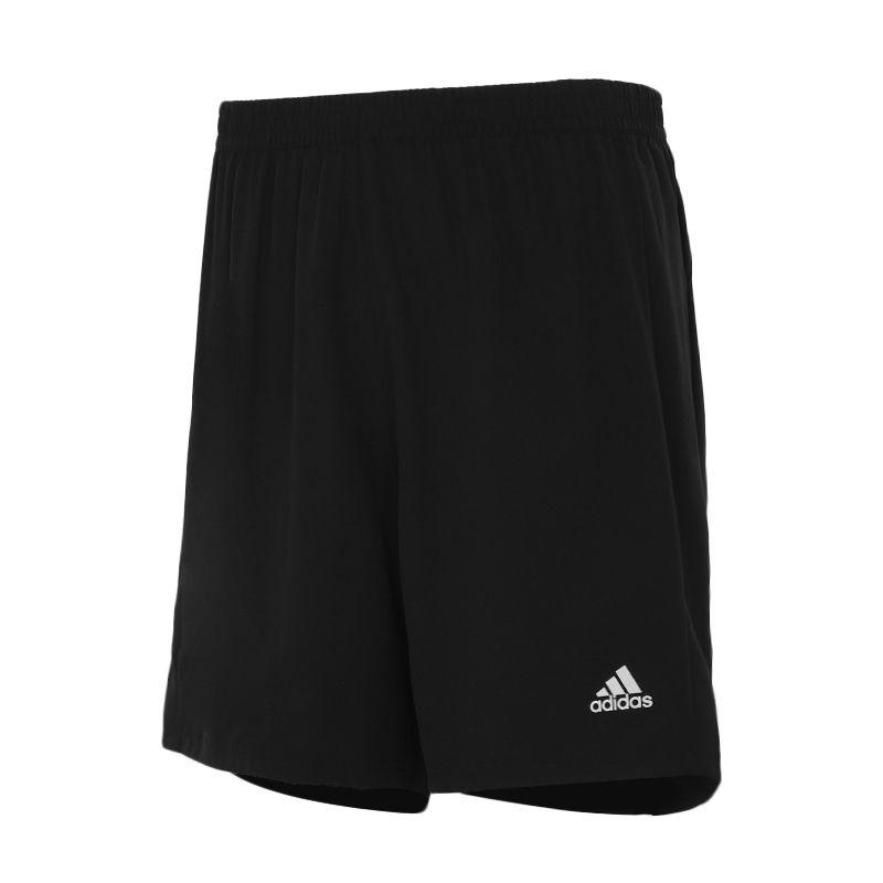 阿迪达斯ADIDAS 男子 2021夏季新款运动休闲裤子跑步训练健身透气直筒梭织沙滩裤五分裤短裤 FS9808