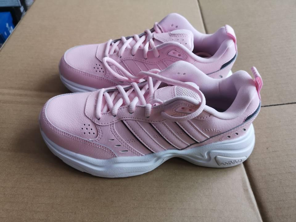 (全新微瑕)阿迪达斯 adidas 女子 减震休闲舒适耐磨跑步鞋 (轻微色差)EG6225