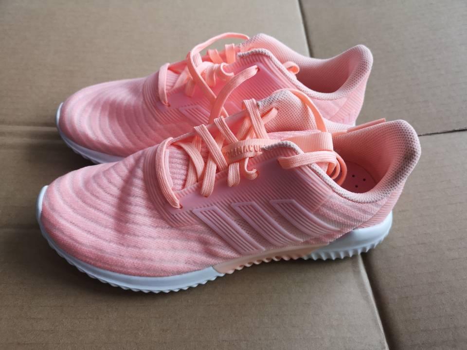 (全新微瑕)阿迪达斯 女子 清风运动鞋休闲跑步鞋 (轻微色差)B75840 B75853