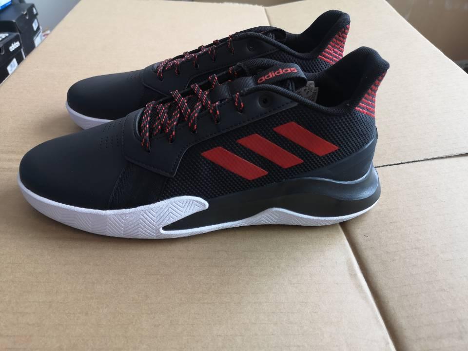 (全新微瑕)阿迪达斯 adidas RUNTHEGAME 男子 舒适透气休闲耐磨缓震运动鞋实战篮球鞋(轻微色差) EF1022