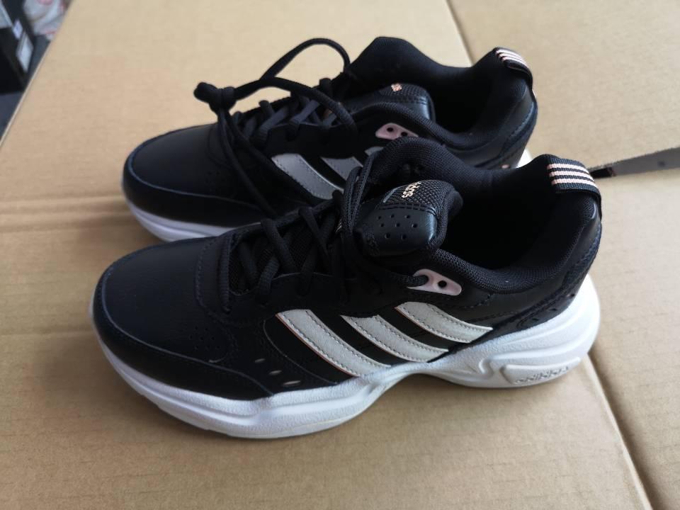 (全新微瑕)阿迪达斯adidas 女鞋 缓震透气休闲舒适耐磨轻便跑步鞋(轻微色差) FV0427