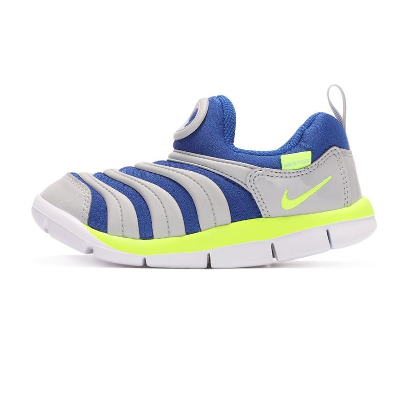 耐克NIKE  儿童 2021夏季毛毛虫运动鞋复古时尚耐磨舒适轻便透气板鞋休闲鞋 343938-436