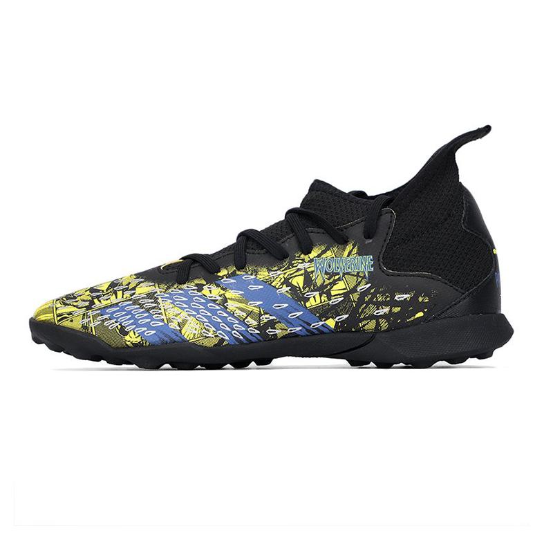 阿迪达斯ADIDAS 儿童 夏季新品运动鞋足球训透气鞋子练耐磨减震时尚休闲TF钉鞋 GZ7554