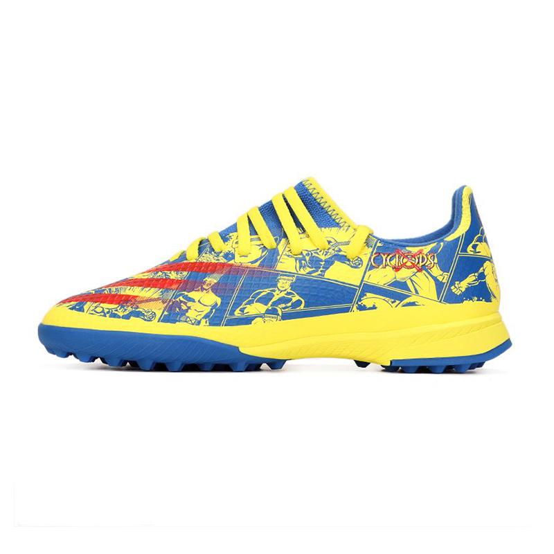 阿迪达斯ADIDAS 儿童 2021夏季新品运动鞋耐磨透气TF钉鞋训练足球鞋 GZ8705