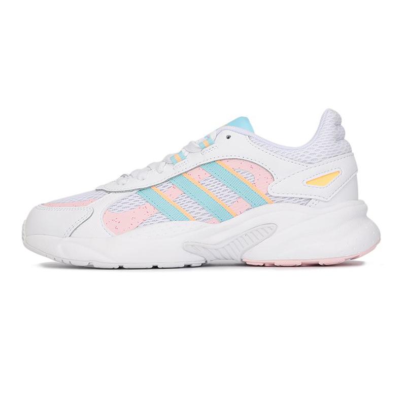 阿迪达斯生活Adidas NEO 女子 2021夏季新款运动鞋缓震透气休闲舒适耐磨跑步鞋 FZ1287