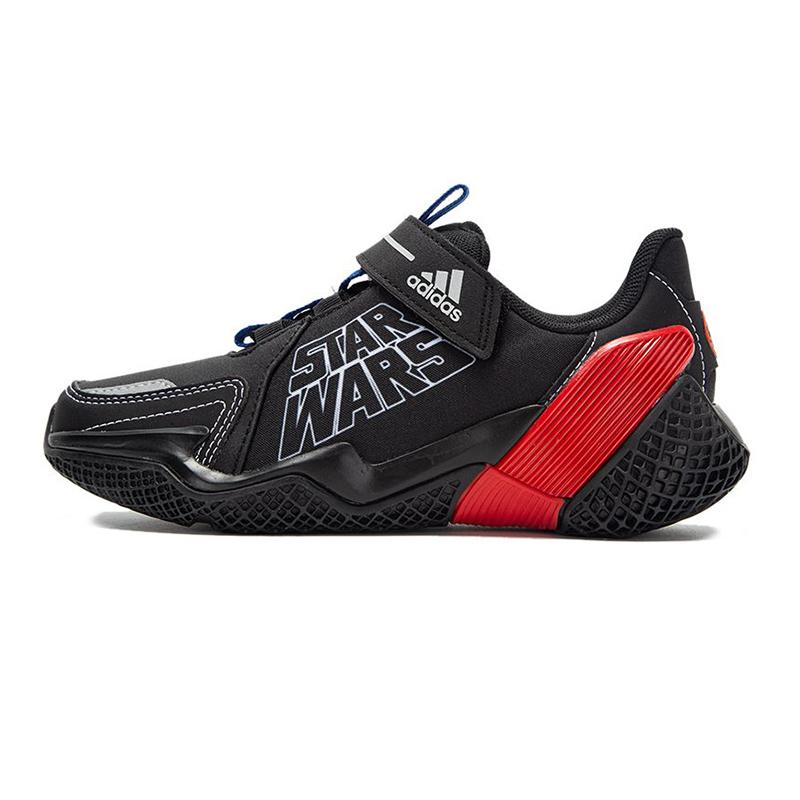 阿迪达斯 儿童 2021春季新款运动鞋缓震透气耐磨轻便舒适休闲鞋子 EF9488