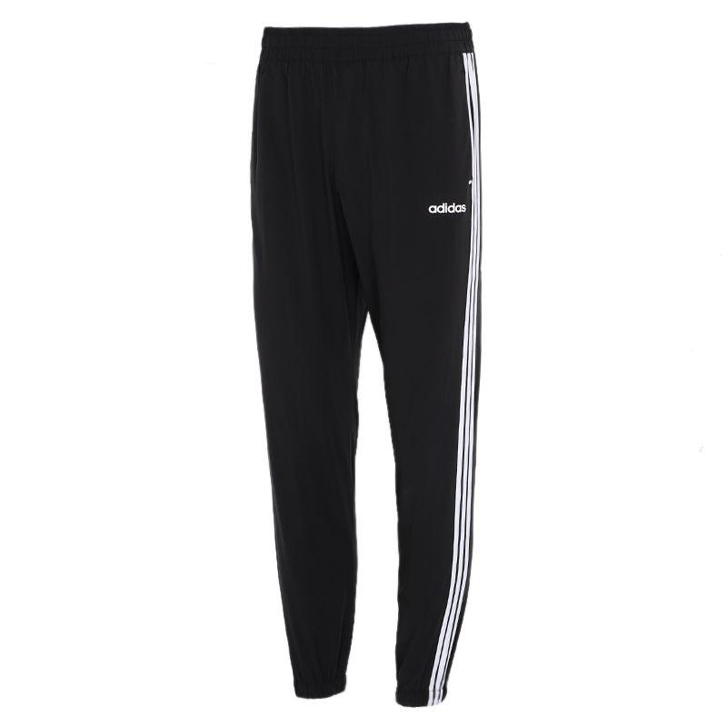 阿迪达斯生活Adidas NEO 男子 2021夏季新款运动裤跑步训练健身舒适快干透气休闲梭织长裤 GP4910