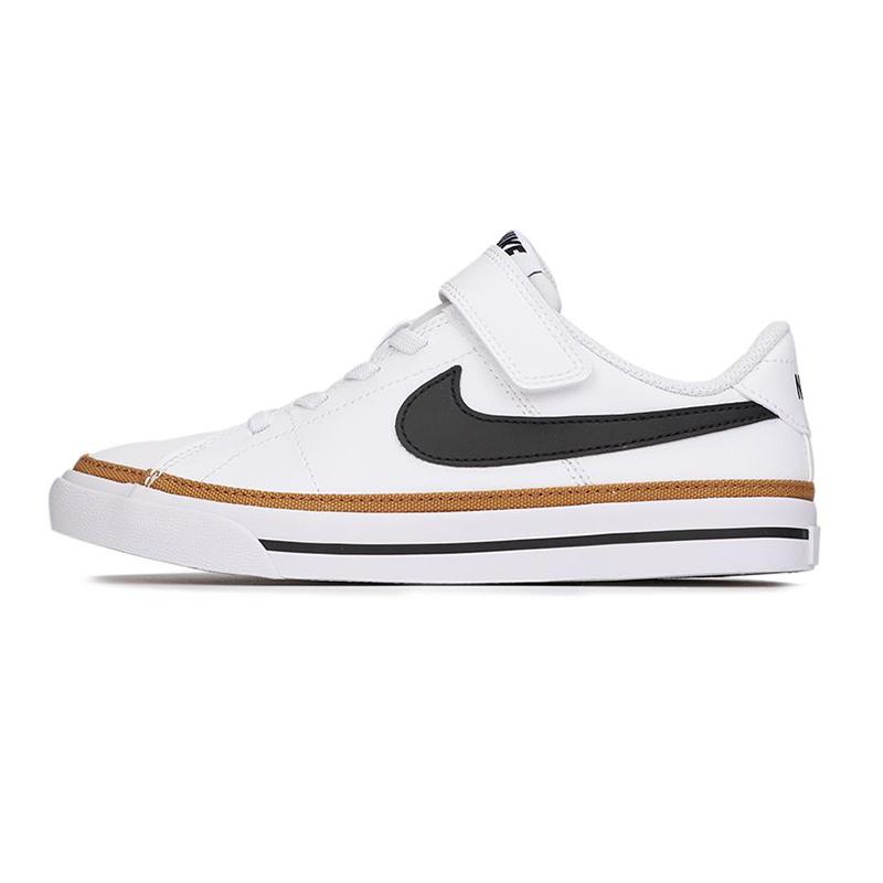 耐克NIKE 儿童 2021春季新款时尚复古耐磨缓震板鞋休闲鞋 DA5381-102
