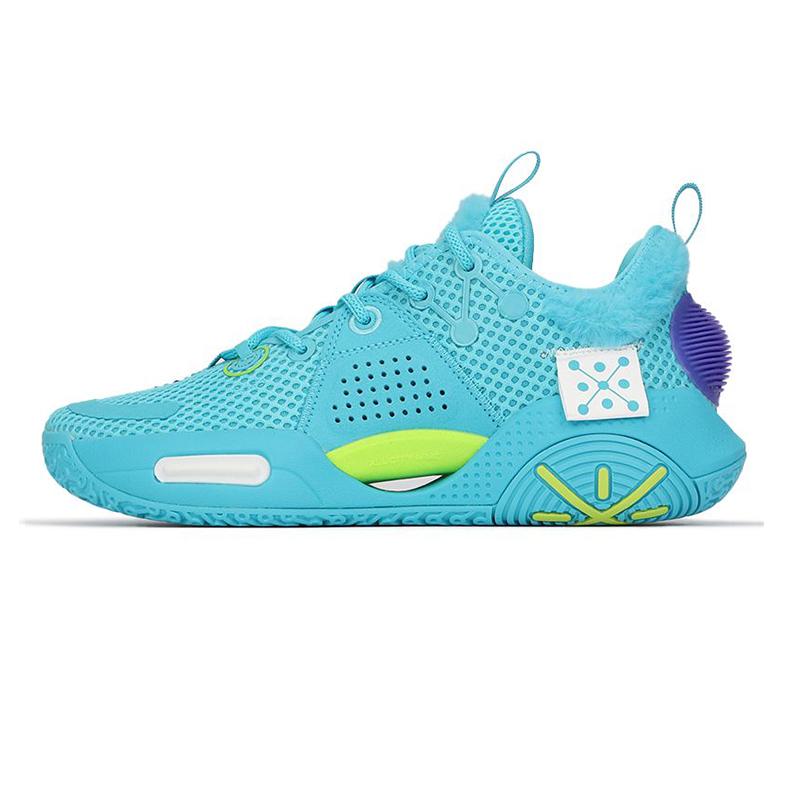 李宁LI-NING 男子 2021年春季新款韦德全城9玩具总动员联名篮球鞋 ABAR015-7