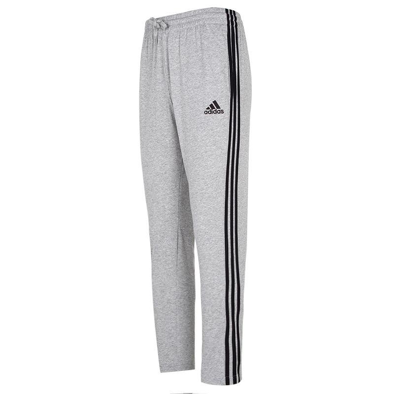 阿迪达斯ADIDAS 男子 2021春季新款运动裤跑步训练健身三条纹舒适宽松休闲长裤 GK8998