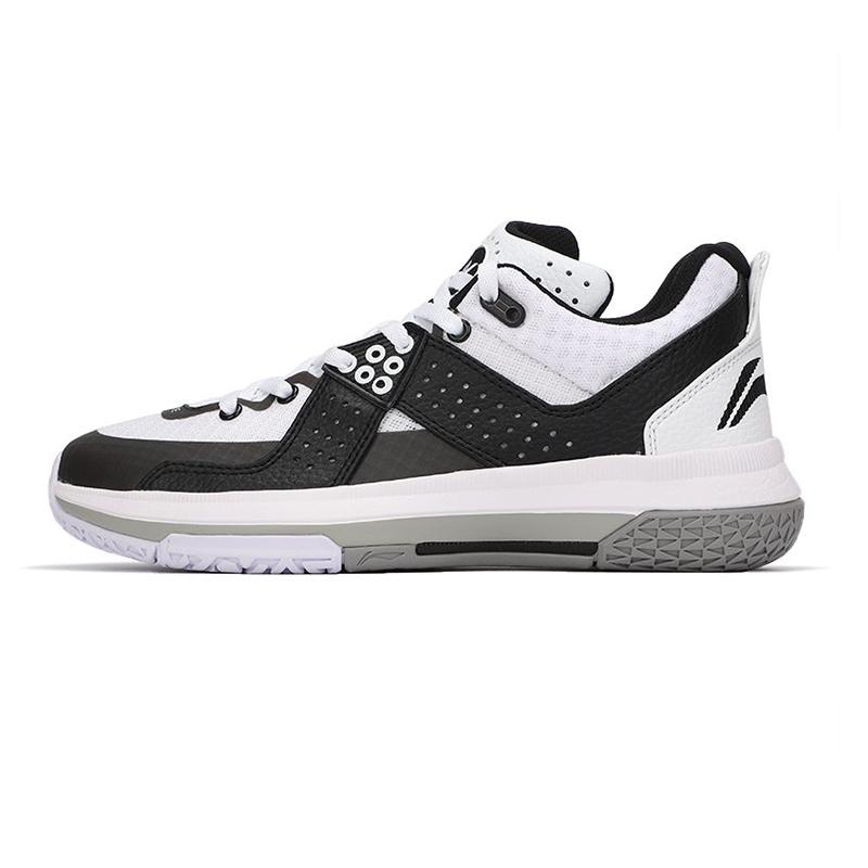 李宁LI-NING 男子 2021夏季新款运动鞋时尚舒适耐磨缓震出行户外旅行跑步篮球鞋 ABAP129-2