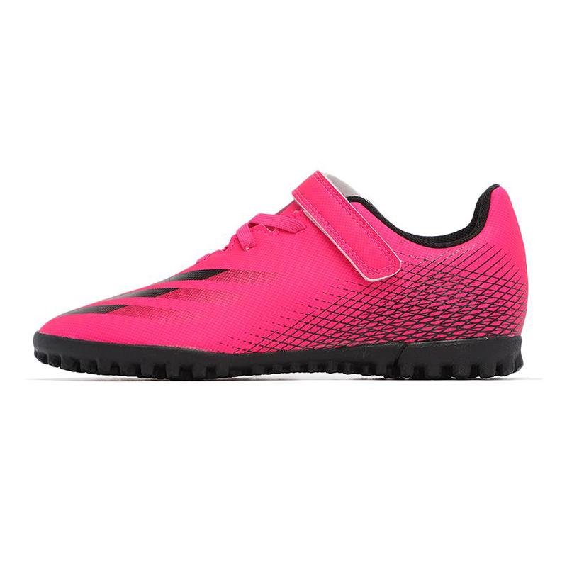 阿迪达斯 儿童 2021夏季新款运动鞋训练舒适耐磨透气休闲人造草坪TF钉鞋 FZ3750