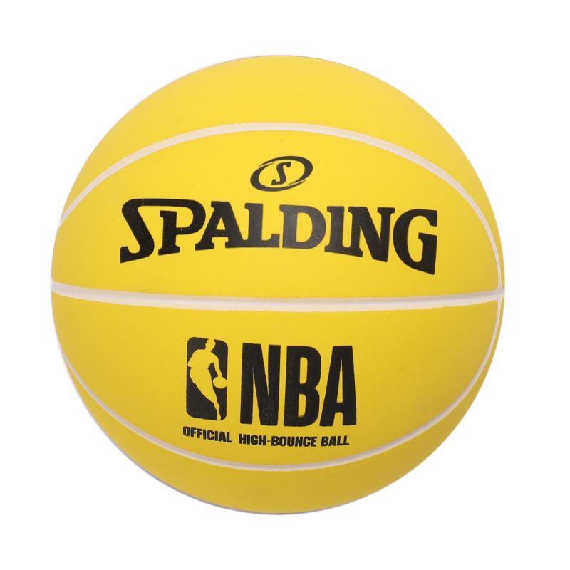 斯伯丁SPALDING 高弹力幼儿小篮球橡胶儿童玩具礼品1号小皮球nba摆件 51-294Y