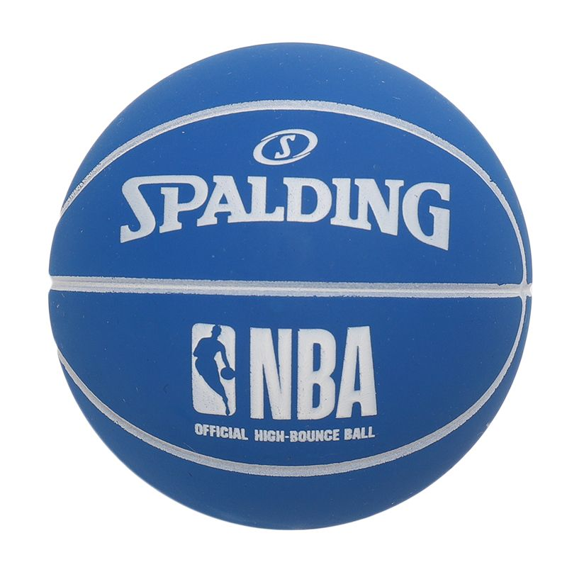 斯伯丁SPALDING 高弹力幼儿小篮球橡胶儿童玩具礼品1号小皮球nba摆件 51-299Y