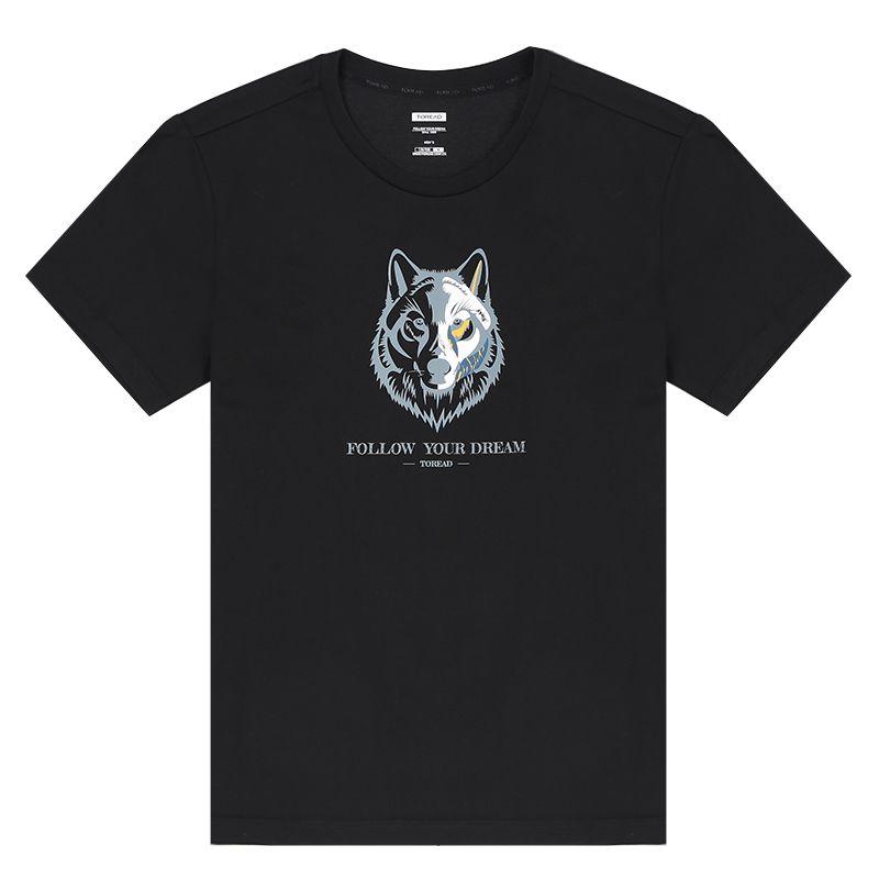 探路者TOREAD 男装 运动时尚休闲户外短袖T恤 TAJI81896-G01X