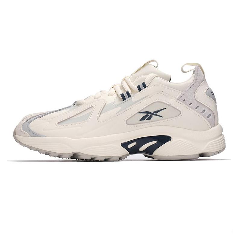 锐步Reebok 男女 2021新款运动鞋复古时尚耐磨舒适轻便透气情侣板鞋休闲鞋 CN7591