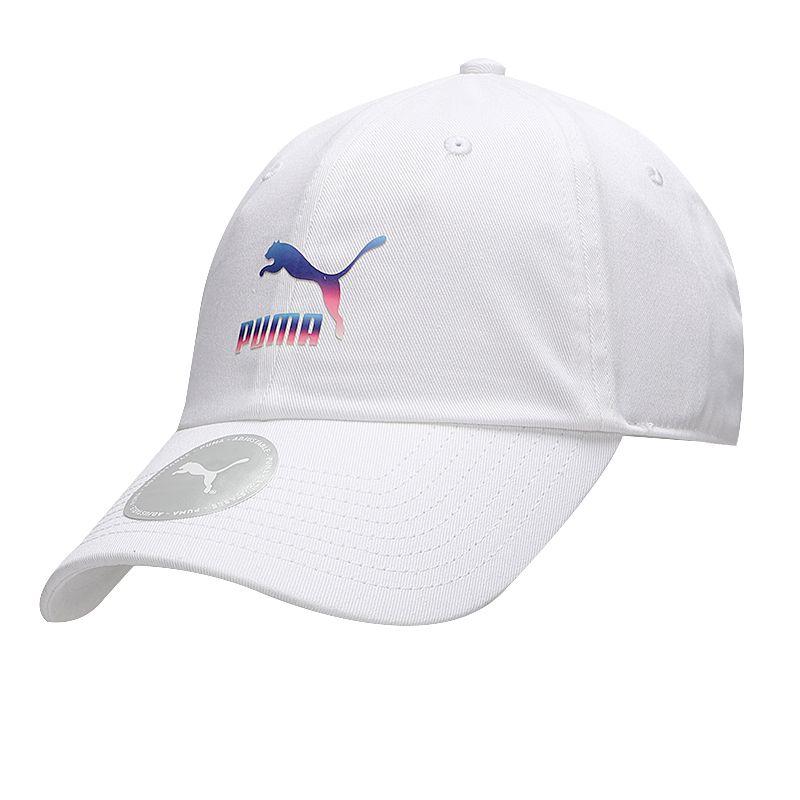 彪马PUMA 男女 2021新款运动帽休闲遮阳帽渐变鸭舌帽户外棒球帽 023926-02