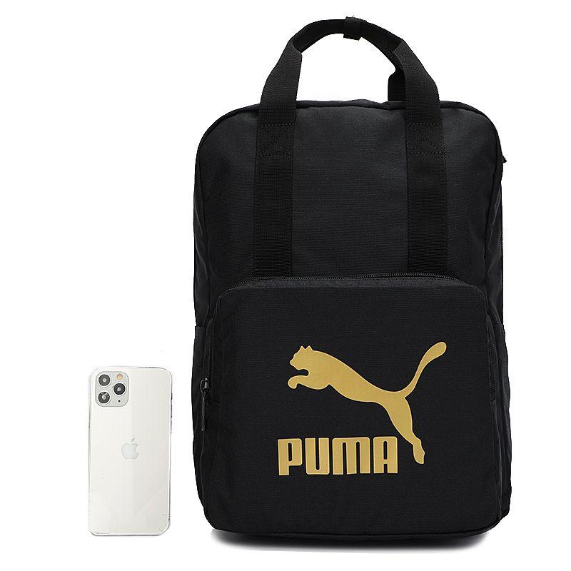 彪马PUMA 男女  2021新款运动包学生书包双肩包休闲时尚背包 078481-01