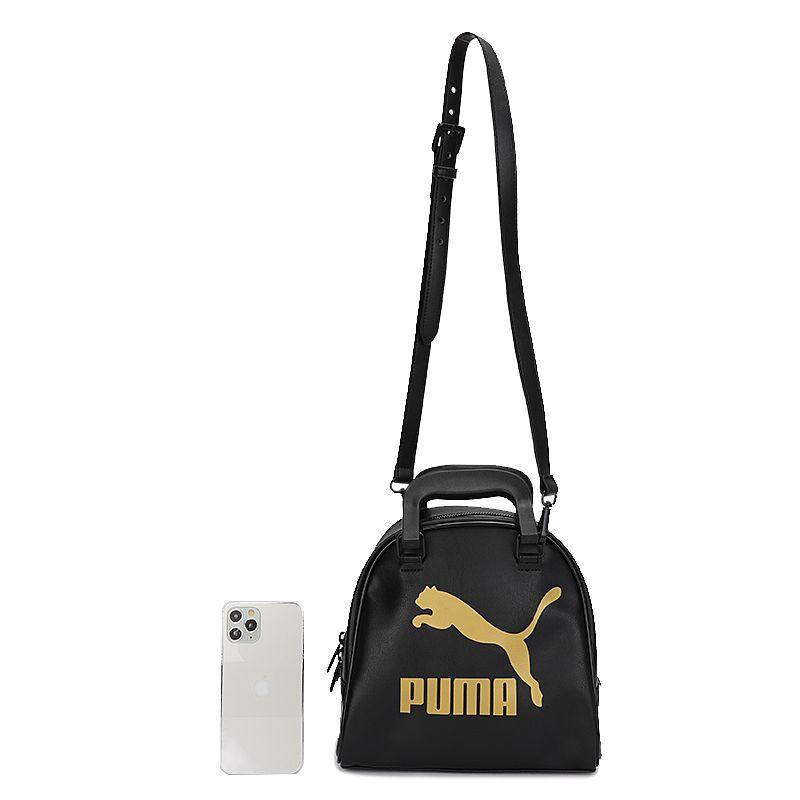 彪马PUMA 男女 2021新款情侣包运动休闲包户外便携旅行双肩包电脑包背包 078552-01