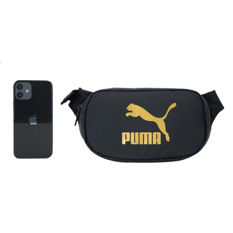 彪马PUMA  男女 2021新款运动包时尚休闲挎包健身便携跑步腰包单肩包 078482-01