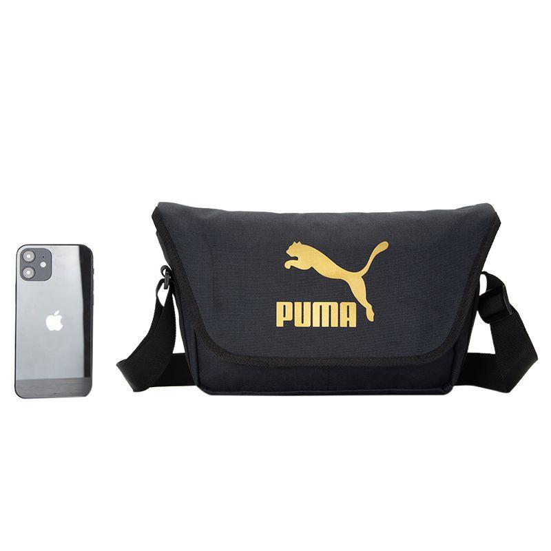 彪马PUMA 男女 2021新款运动包舒适斜挎包学生包邮差包 078484-01