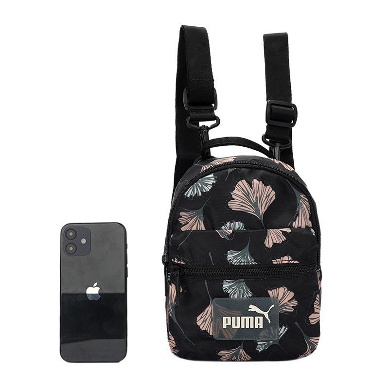 彪马PUMA  男女 2021新款双肩包学生书包可调节拆卸肩带背包 078639-01