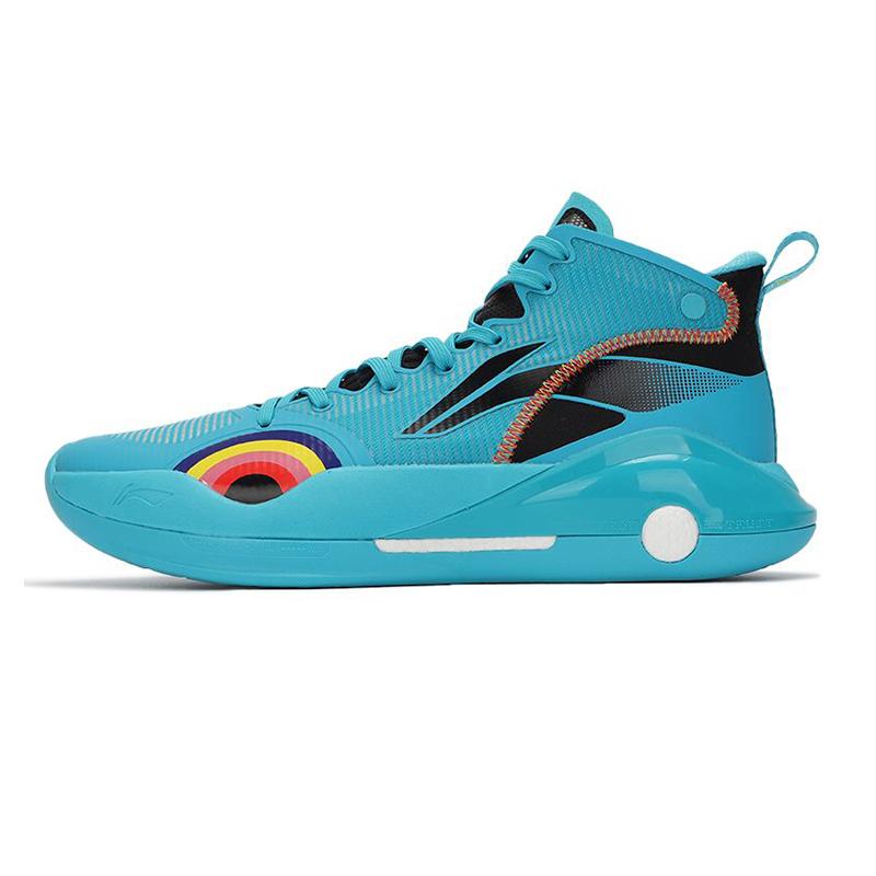 李宁LI-NING 男鞋 篮球鞋 基础款 ABAR043-4