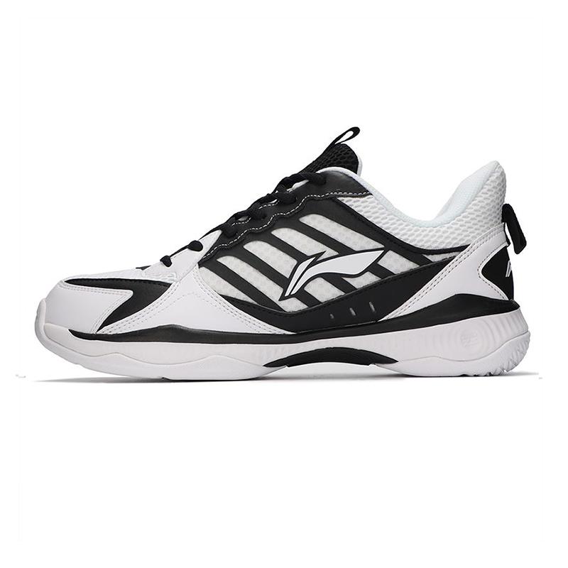 李宁LI-NING 男子 2021新款运动鞋比赛鞋舒适透气训练鞋羽毛球排球休闲鞋 AYTQ019-1