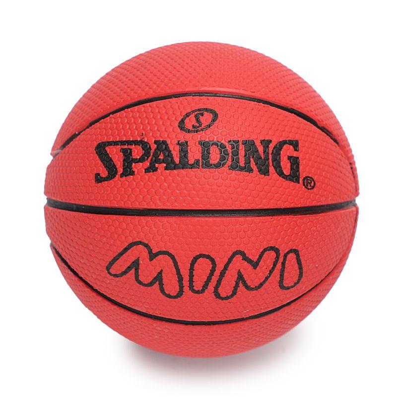 斯伯丁SPALDING 男女 迷你小篮球儿童弹力球玩具球一号礼品橡胶球 迷你球 51-340Y