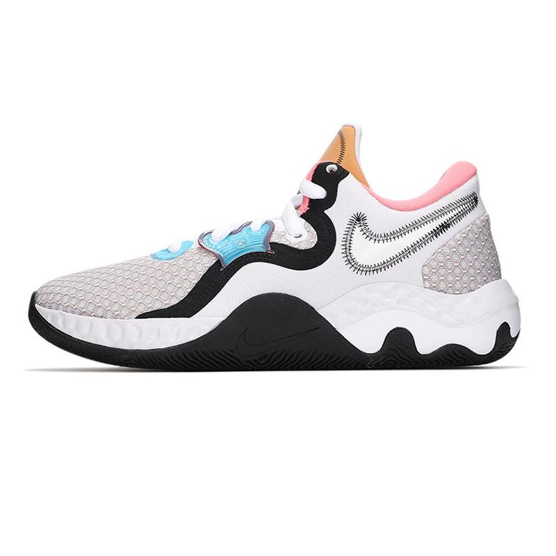 耐克NIKE 男子 2021新款运动鞋场上训练耐磨透气休闲篮球鞋 CW3406-505