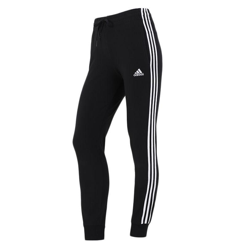 阿迪达斯ADIDAS 女子 2021新款运动裤跑步训练健身舒适休闲针织长裤 GM5542