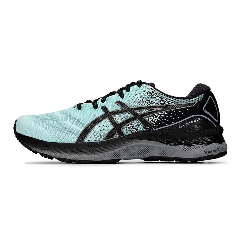 亚瑟士ASICS 男子 2021新品运动鞋 GEL-NIMBUS 23代专业跑鞋轻便防滑稳定支撑透气跑步鞋 1011B004-408