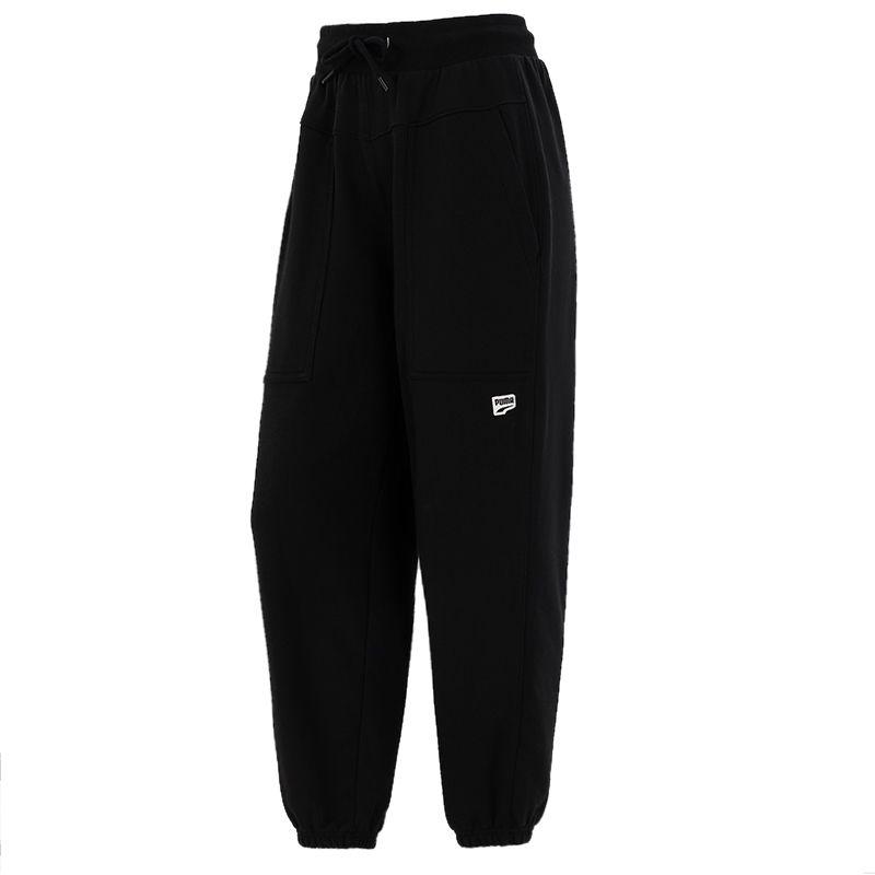 彪马PUMA 女子 2021新款运动裤跑步训练健身透气针织长裤 533054-01