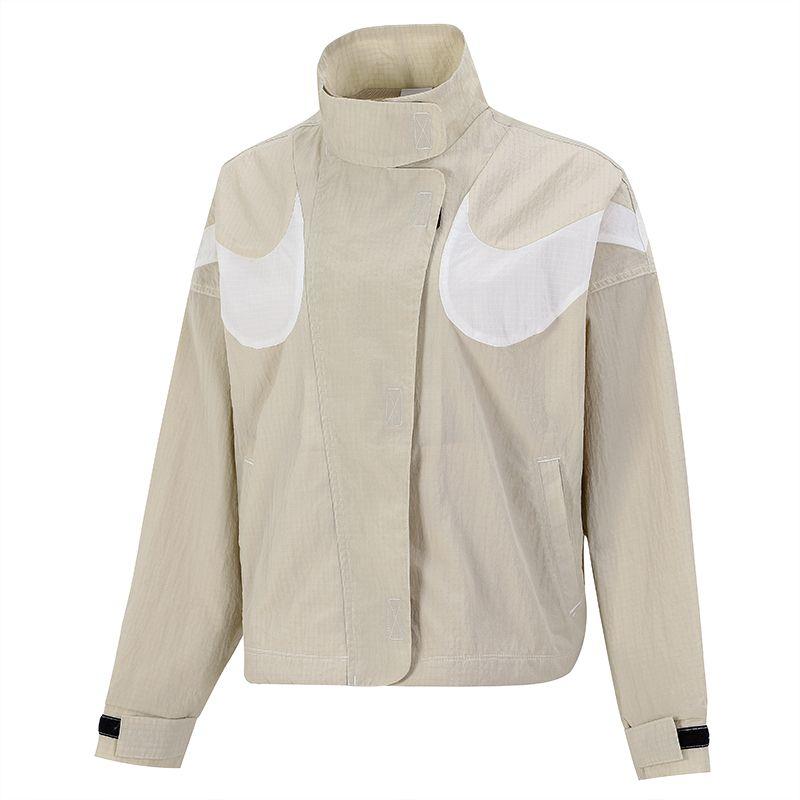 耐克NIKE 女子 2021新款运动服跑步训练健身透气舒适防风快干休闲外套梭织夹克 DD5585-206