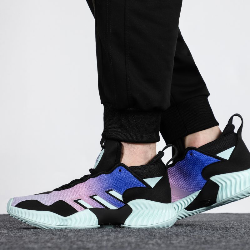阿迪达斯ADIDAS  男子 2021新款运动鞋减震透气耐磨轻便休闲鞋实战篮球鞋 GV9929