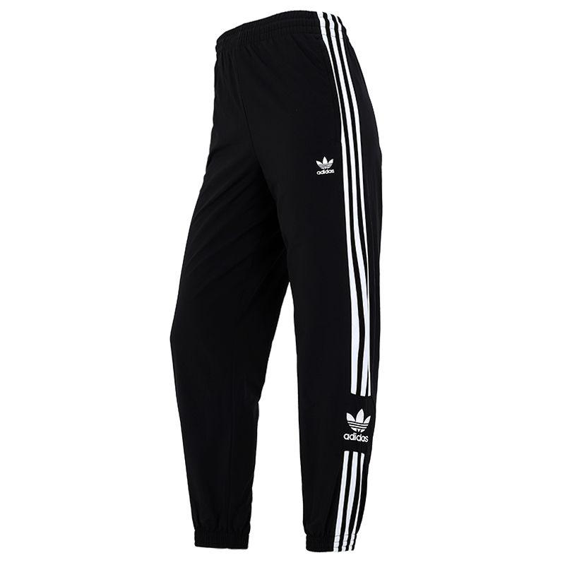阿迪达斯三叶草ADIDAS 女子 2021新款运动裤跑步健身训练轻薄透气舒适休闲长裤 H20547