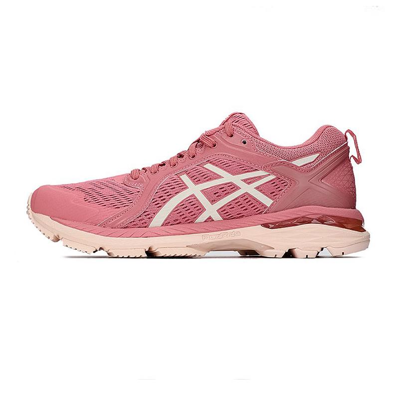 亚瑟士ASICS 女子 2021新款缓震透气休闲鞋轻便训练支撑稳定耐磨运动鞋 1012A808-701
