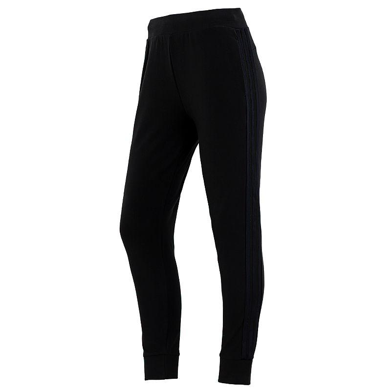 阿迪达斯ADIDAS 女子 2021新款运动休闲训练跑步透气舒适针织训练长裤 H09735